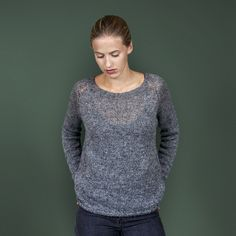 Baggy and Comfortable Sweater #sweater #knitters https://icelandicknitter.com/shop/kbg09/