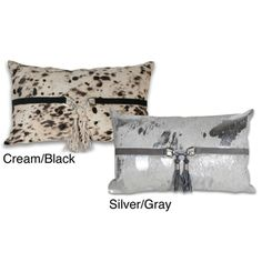 @Overstock - Add a stylish touch to your home with this rectangle pillow from Marlo Lorenz. A multi-colored design and leather tassels highlights this pillow. http://www.overstock.com/Home-Garden/Marlo-Lorenz-Corbin-Splatter-Leather-12x20-inch-Pillow/7329983/product.html?CID=214117 $73.99