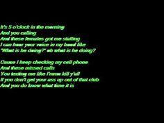 5 O'Clock in the morning (lyrics)