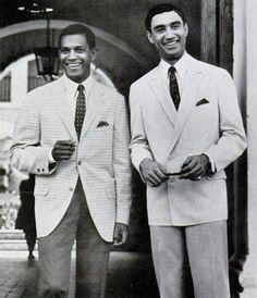 Vintage men in suits.