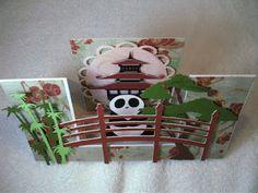 Card Creations By Lorraine: Double Sided Asian Inspired Card-Pagoda Cricut Cartridge