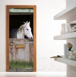 Αυτοκολλητο πορτας HORSE: Click to ZOOM Door Murals, Door Stickers, Creation Deco, Cool Art Projects, Dream Rooms, My Room, Decoration, Wall Design, Painted Furniture