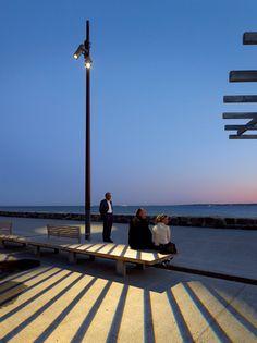 Lighting Design and Light Art Magazine Image    Helsingborg Waterfront by ÅF   Hansen & Henneberg helsingborg pre.bmp2