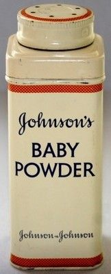 Johnson & Johnson Baby Powder vintage tin -- I collect tins, and I love baby powder. I want one of these!
