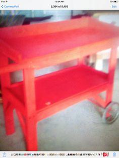 Made potting bench