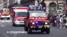 BSPP défilé 14 juillet // Paris Fire Brigade Bastille Day