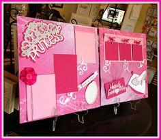 Disney princess Scrapbook Layout - Kit!!!
