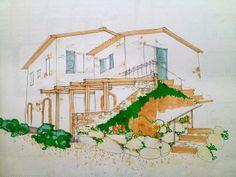 Locandadidoris: Primeiro Sketch da Casa