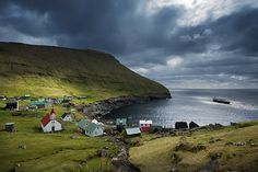 Fishing village, Faroe Islands by JC Richardson, via Flickr