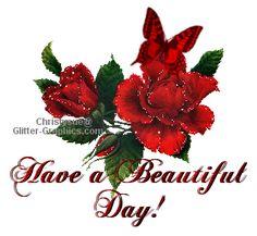 glitter graphics have a beautiful day | Glitter Text » Greetings » Have a Beautiful Day