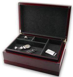 Reed Barton Jewelry Box Jackson Mens Accessory Chest Mens