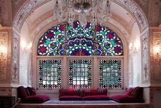 Saheb Qaranieh - Hall Corner  Niavaran palace complex, Iran