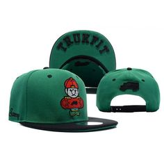 Awesome green color! Trukfit Tommy Boy Snapback Hat | http://streetwearmuse.com/hats/snapback-hats/trukfit-tommy-boy-snapback-hat-green-black #Trukfit #snapback #streetwear #urbanwear #streetfashion