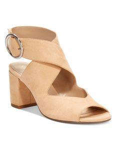 19442f484 CHARLES by Charles David Kali Block-Heel Sandals & Reviews - Sandals & Flip  Flops - Shoes - Macy's