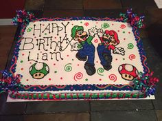 Liam's Birthday cake