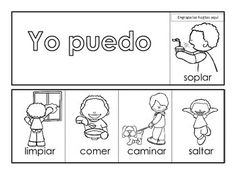 Spanish high frequency words flip books
