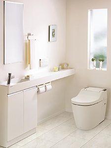 ゲストに「素敵!」と言われる、ご自慢トイレにリフォーム   住宅リフォームのヒント集   Panasonic