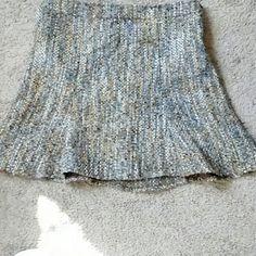 Lemon tweed skirt (petite) Skirt is lined with ,viscose,cotton,tweed lemon  Skirts Circle & Skater