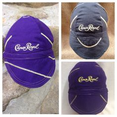 Welder Caps made using Crown Royal liquor by ItchinToBeStitchen