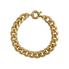 Ali's Collection: Link Bracelet Gold Plate