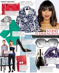 Kerry Washington reveals her fashion must-haves exclusively to us! via @WhoWhatWear