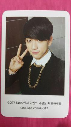 GOT7 JUNIOR JR Official Photocard IDENTIFY 1st Album Photo Card Got It 주니어 Got7 Junior, I Love Him, My Love, Got7 Jinyoung, Name Cards, Photo Cards, How To Get, Album, Jr
