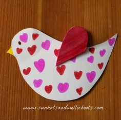 Valentine's Day bird
