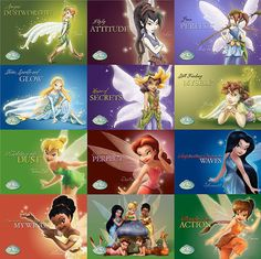 Disney Fairies <3