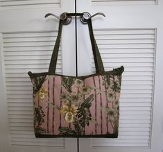 Quilted Tote Yellow Orchids Fancy Tote Bag