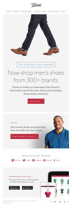 Twice Shop men's shoes