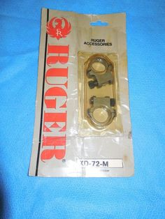 Ruger Scope Rings KD-72-M Stainless Steel Std Height for Redhawk/Mini 14 NOS  | eBay