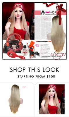 """""""uniwigs"""" by mujkic-merima ❤ liked on Polyvore featuring Betty Boop, women's clothing, women, female, woman, misses, juniors and uniwigs"""