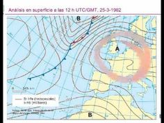 Comentario de un mapa de tiempo (3).
