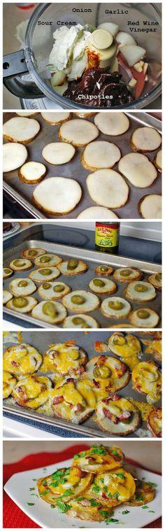 Start Recipes: Mexi-Cheesy Bacon Oven Chips
