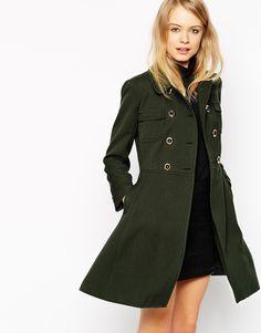 Image 1 ofASOS Coat With 60s Styling