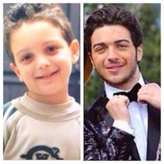 Gianluca Ginoble 3 years old  Gianluca Ginoble 18 years old ⭐️IL VOLO⭐️
