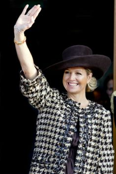 Queen Máxima, March 11, 2014 | The Royal Hats Blog