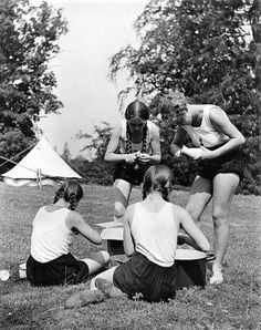 Girl nudist camp Women proudly