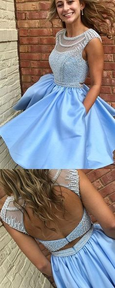 Short Homecoming Dresses, Sleeveless Homecoming Dresses #Short #Homecoming #Dresses #Sleeveless
