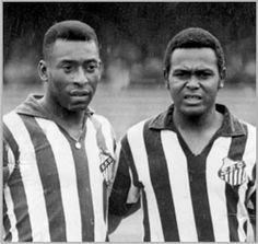 Pelé e Coutinho... craque no nome e na bola.