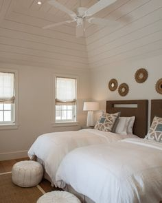 Fort Point Cottage, Harbour Island, The Bahamas - contemporary - bedroom - toronto - Laura Hay DECOR & DESIGN
