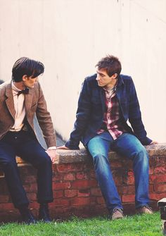 The Eleventh Doctor and Rory