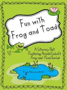 Frog and Toad stories have been a favorite among early readers for years! This unit includes specific activities for the following stories: A Lost ...