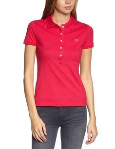 Lacoste Women's Polo Shirt Pink (FUCHSIA F3W) UK 10