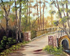 Kő-híd. olaj, farost, 40x50