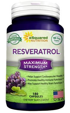 100% Pure Resveratrol - 1000mg Per Serving Max Strength (180 Capsules) Antioxidant Supplement Extract, Natural Trans-Resveratrol Pills for Heart Health and Weight Loss, Trans Resveratrol for Anti-Aging -- New and awesome product awaits you, Read it now  : Herbal Supplements