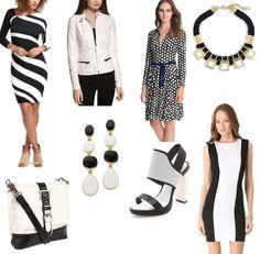 Spring fashion trends 2013: black & white