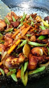 Spicy Chicken and Vegetables Stir Fry
