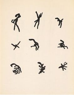 Henri Michaux - Sans titre - 1959