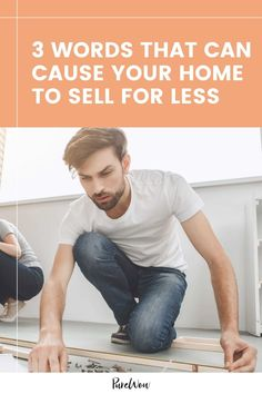 """Using the words """"Fixer-upper,"""" """"TLC"""" or """" Investment"""" in your real estate listing will almost certainly cause your home to sell for less. Here, find a breakdown of each term, plus two other words to avoid. #home #house Trending Paint Colors, For Less, Chip And Joanna Gaines, Home Hacks, Furniture Sale, Home Decor Trends, Home Buying, Real Life, Investing"""